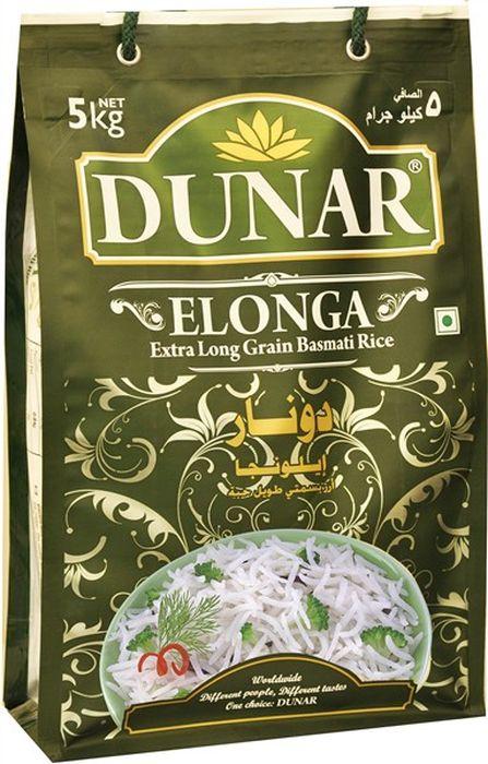 Dunar Elonga самый длинный басмати рис, 5 кгДунар 7Самый длинный с белым зёрнами рис басмати, выдержка риса 2 года, длина риса в приготовленном виде 19 мм