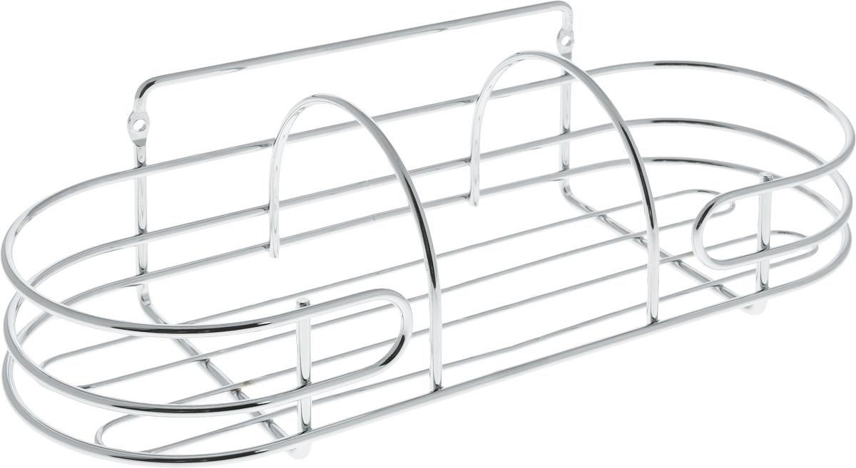 Корзина навесная для ванной Swensa, 32 х 12,5 х 11,8 смSWR-3103AКорзина навесная для ванной Swensa выполнена из высококачественной стали с хромированным покрытием. Имеет закругленную форму. Для установки предусмотрены специальные отверстия. Изделие отлично подойдет для хранения шампуня, геля для душа и многого другого. Корзина отлично дополнит любой интерьер, она отличается высоким качеством и лаконичным внешним видом.
