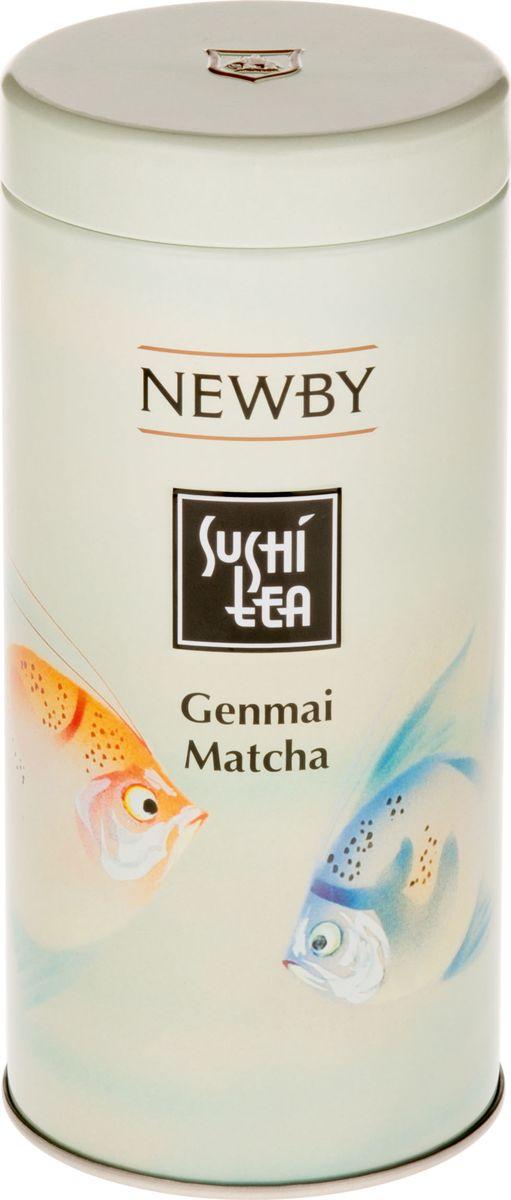 Newby Sushi tea Genmai Matcha зеленый листовой чай, 100 г5023984000571Традиционный японский чай Генмай Матча представляет собой купаж зеленой Сенчи, жареного риса и порошка чая Матча. Полезные свойства зеленого чая Матча и его неповторимый вкус соединяются с нежностью Сенчи, а зернышки риса придают напитку особую пикантность и пьянящий аромат. Вкусовые характеристики Цвет настоя: насыщенный Аромат: ореховый Вкус: деликатный, с нотками риса Послевкусие: мягкое Способ приготовления Используйте свежекипяченую воду и дайте ей остыть до температуры 80° С. Заваривать 2?3 мин. Ингредиенты Зеленый чай, жареный рис, порошок чая Матча
