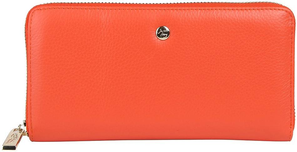 Кошелек женский Janes Story, цвет: оранжевый. H-01-5599-58H-01-5599-58