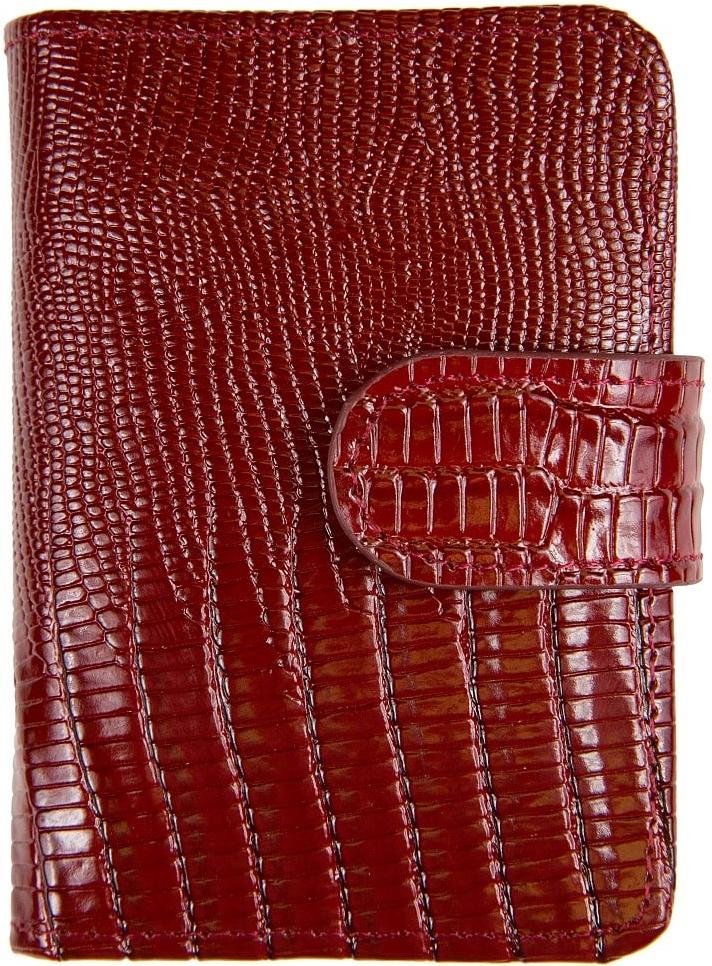 Визитница женская Janes Story, цвет: бордовый. K-L-P01-03K-L-P01-03