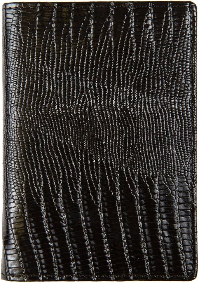 Обложка для паспорта женская Janes Story, цвет: черный. K-L-P193-04K-L-P193-04