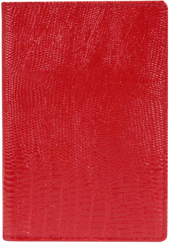 Обложка для паспорта женская Janes Story, цвет: красный. K-L-P193-12K-L-P193-12