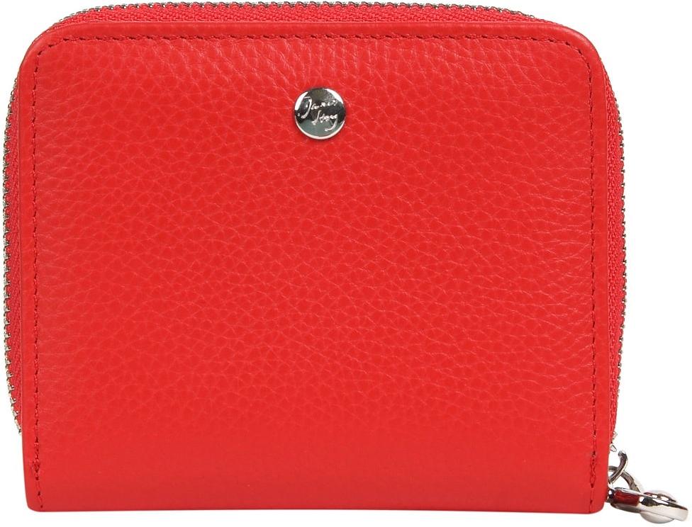 Кошелек женский Janes Story, цвет: красный. K-LG-830-12K-LG-830-12