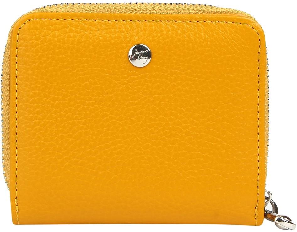 Кошелек женский Janes Story, цвет: желтый. K-LG-830-67K-LG-830-67