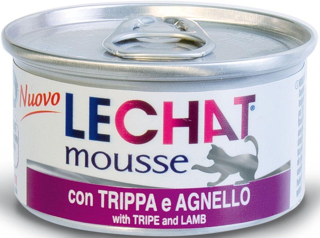 Консервы Monge Lechat mousse, для кошек, мусс потрошки и ягненок, 85 г70000949Lechat консервы для кошек потрошки/ягненок 85 г Мусс с потрошками и ягненком LeChat - это полнорационный корм для кошек. Также подходит для кормления котят. В состав входят все необходимые витамины и минеральные вещества для поддержания здоровья и активности кошки. Эксклюзивный способ приготовления - варка на пару - позволяет достичь нежной, мягкой и при этом густой консистенции продукта. Не содержит красителей, консервантов и сахара. Рекомендации по кормлению: для кошек среднего размера норма составляет 85г продукта на каждое кормление (4-5 раз в день). Подавать корм комнатной температуры. Убедитесь, что у кошки есть доступ к свежей чистой воде. Хранить при комнатной температуре, после вскрытия-в холодильнике.Сырой белок 9%, сырой жир 6,6%, сырая клетчатка 0,5%, сырая зола 2%, влажность 78%. витамины и добавки на 1 кг: витамин А 2500МЕ, витамин D3 250 МЕ, витамин Е 10 мг, таурин 1200мг.Свежее мясо 76% (рубец – 13%, ягненок – 7%), злаки, минеральные...
