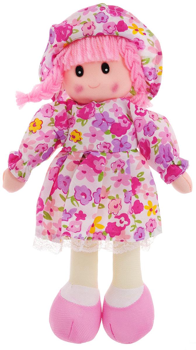 Sima-land Мягкая кукла в платье и шляпке цвет розовый