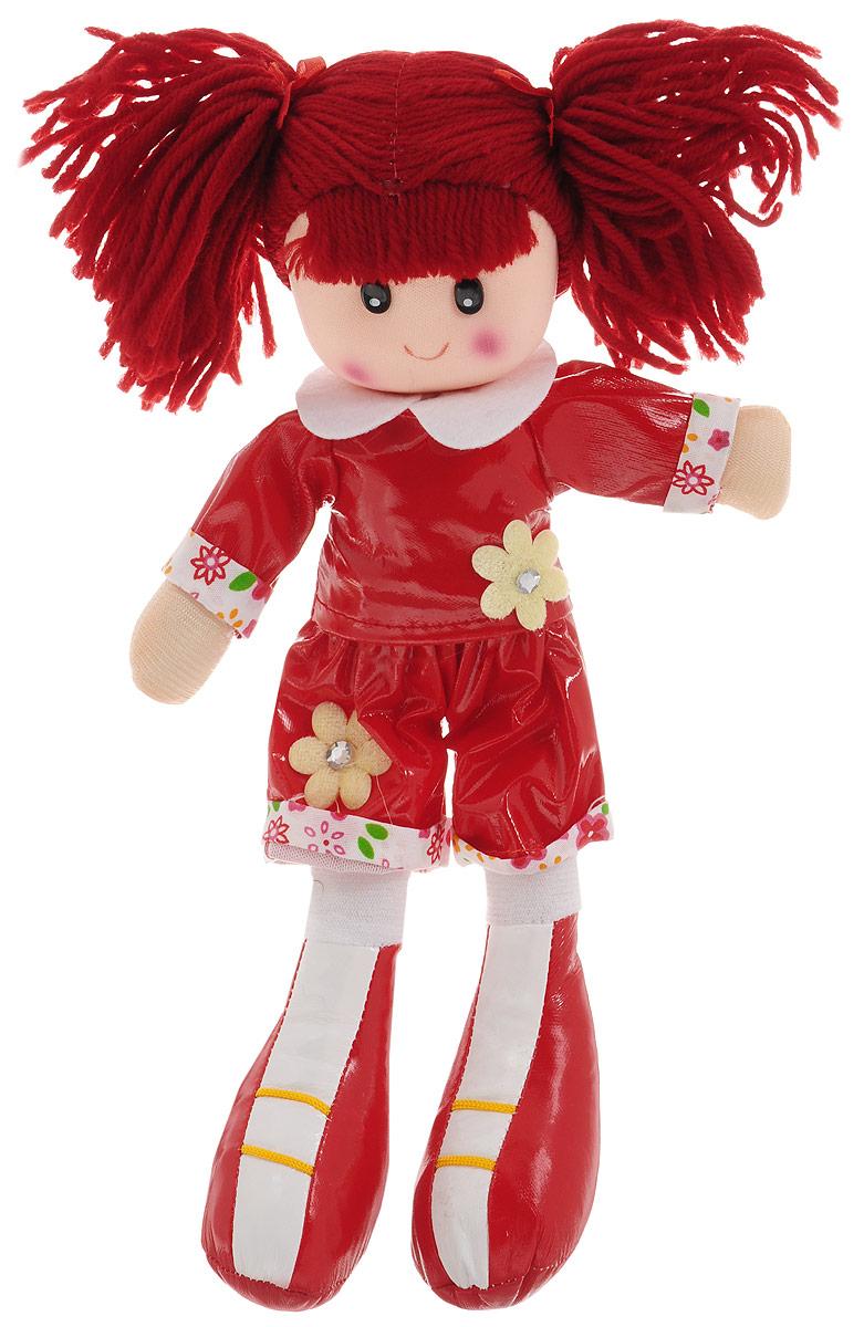 Sima-land Мягкая кукла цвет платья красный