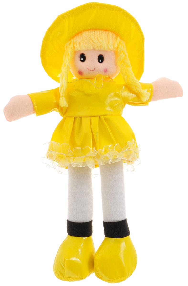 Sima-land Мягкая кукла в платье с бахромой цвет желтый