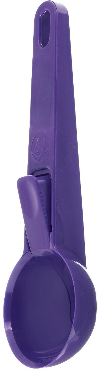 Ложка для мороженного Metaltex Igloo, длина 19,5 см25.34.00-534_фиолетовыйЛожка для мороженного Metaltex Igloo, длина 19,5 см
