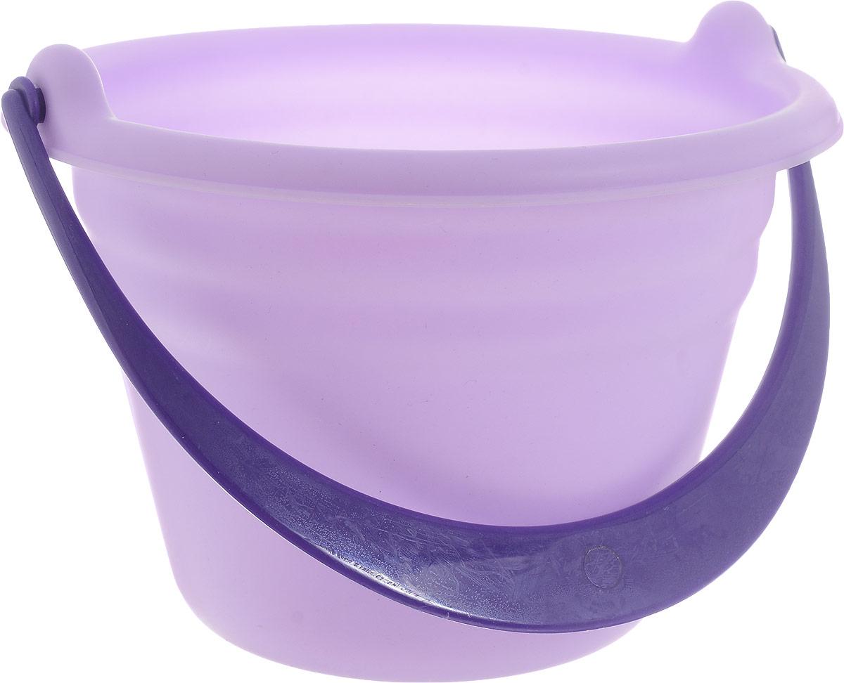 Baby Trend Игрушка для песочницы Ведро большое цвет сиреневый  недорого