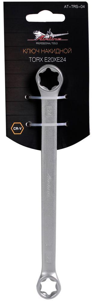 Ключ накидной Airline Torx, E20 x E24AT-TRS-04Долгий срок эксплуатации Ключи изготовлены из высококачественной хром-ванадиевой стали. Тело ключа изготовлено методом горячей ковки, что придаёт ему высокую прочность и долговечность. Финишное прочное хромированное покрытие защищает ключ от воздействия коррозии, делает его более износостойким и легко очищается от загрязнений. Максимальное усилие без повреждения крепежа Продуманный профиль накидной части ключа смещает пятно контакта с ребра грани на её поверхность, что предотвращает повреждение болтов и гаек даже при самых высоких нагрузках. Безопасны в работе Эргономичный профиль рукоятки ключа позволяет развивать большее усилие без риска повреждения кистей рук. Надёжность и эффективность Встроенный прочный трещоточный механизм значительно повышает производительность труда и снижает нагрузки на организм. Материал: cталь CrV50BV30 Твёрдость: 39-42 HRC Покрытие: Матовое хромирование