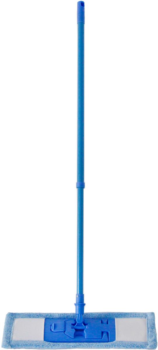 Швабра Monya, с телескопической ручкойМ 02Швабра MONYA с насадкой из микрофибры предназначена для сухой и влажной уборки полов с покрытием: кафелем, паркетом, ламинатом, линолеумом. Телескопическая ручка позволяет отрегулировать швабру по высоте для удобного использования.
