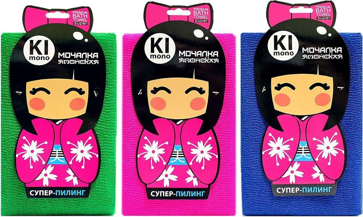 Мочалка-полотенце Eva Kimono. М3413М3413Оригинальная позиция для ценителей японских мочалок, специальная текстура материала обеспечивает деликатное воздействие.