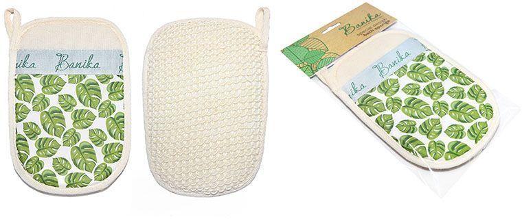 Мочалка-рукавица Banika, сизаль. М444М444Массажная рукавица для интенсивного ухода. Сизаль — натуральное вязаное полотно из нитей мексиканской агавы. Удобный эргономичный размер рукавицы, обильное пенообразование, антицеллюлитный массаж, эффект пилинга. Уникальный дизайн. Подходит для любителей жестких мочалок.