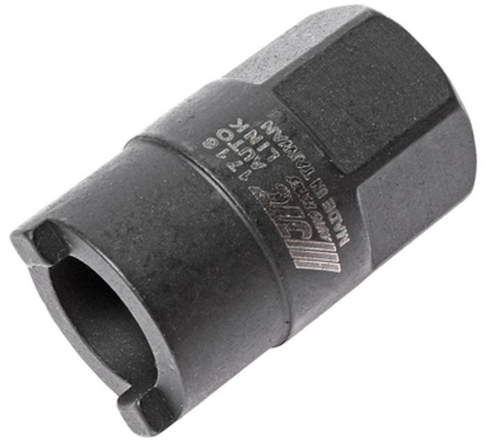 JTC Головка для верхней гайки крепления амортизатора (Volkswagen, Audi). JTC-1718JTC-1718Используется для снятия и установки стопорной гайки на большинстве автомобилей Фольксваген (Volkswagen), Ауди (Audi). Головка 6-гранная: 22 мм. Количество в оптовой упаковке: 10 шт. и 200 шт. Габаритные размеры: 120/65/30 мм. (Д/Ш/В) Вес: 75 гр.