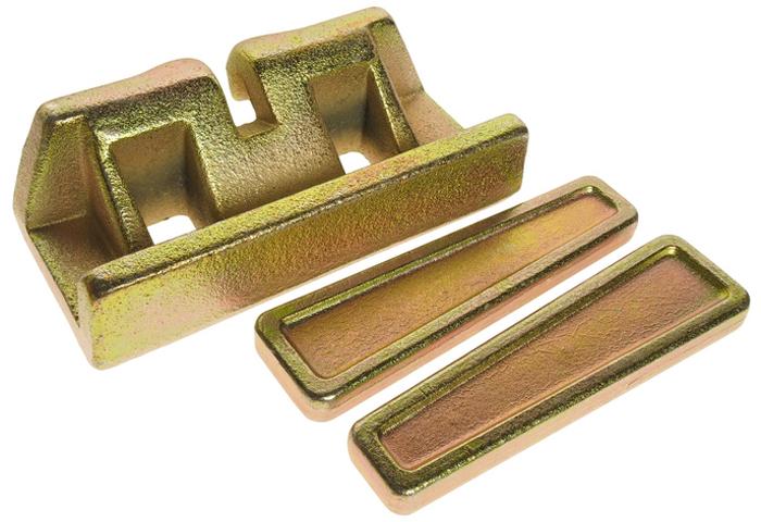 JTC Фиксатор для цепей размером 5/16 и 3/8. JTC-8P109JTC-8P109Применяется с цепями 5/16, 3/8. В комплект входят 2 фиксирующих штифта