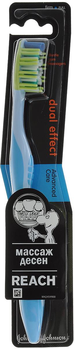 Reach Зубная щетка Dualeffect, жесткая цвет: голубой3058835_голубойReach Зубная щетка Dualeffect, жесткая цвет: голубой