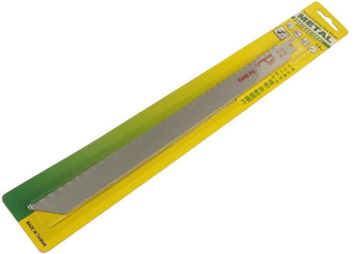 JTC Полотно ножовочное широкое биметаллическое 12х18Т. JTC-3748JTC-3748Изготовлено из двух металлов, что способствует особой прочности инструмента. Подходит для применения с электрической или пневматической пилой JTC-5052 и JTC-5236. Ширина: 29 мм., толщина: 1.5-3 мм., длина: 280 мм. Размер: 12;х18Т. Габаритные размеры: 380/50/5 мм. (Д/Ш/В) Вес: 55 гр.