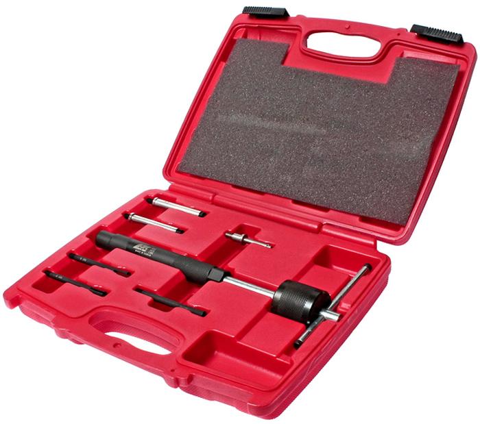 JTC Набор съемников свечей накаливания. JTC-4052JTC-4052Предназначены для извлечения свечей накаливания. Съемники в комплекте: 5 шт. с внешний размером адаптера: 2.7x1, 3.6x1, 5x2, 6x1 1 шт. внутренний размер держателя адаптера: 5.5 Общее количество предметов: 7. Упаковка: прочный переносной кейс. Количество в оптовой упаковке: 20 шт. Габаритные размеры: 300/250/60 мм. (Д/Ш/В) Вес: 1600 гр.
