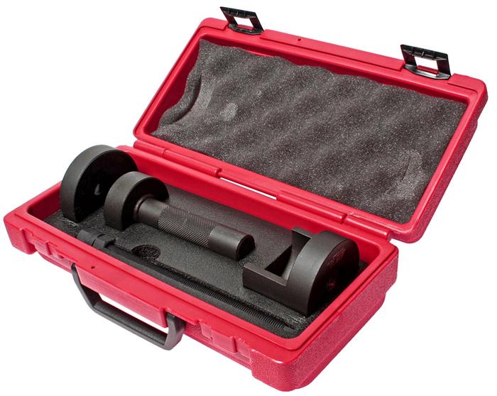 JTC Набор для снятия и установки сайлентблоков заднего подрамника (Toyota ALTIS). JTC-4164JTC-4164Применяется для замены всех сайлентблоков заднего подрамника автомобиля. Все работы выполняются прямо на автомобиле. Нет необходимости снимать подрамник. Применение: Тойота (Toyota) Altis. Упаковка: прочный переносной кейс. Габаритные размеры: 315/165/100 мм. (Д/Ш/В) Вес: 3270 гр. ПОДРОБНАЯ ВИДЕОИНСТРУКЦИЯ