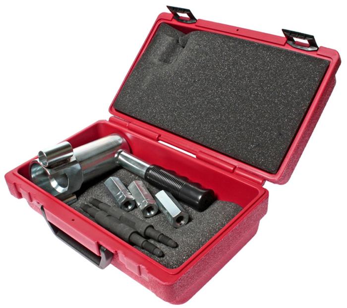 JTC Набор для снятия и установки шаровых опор (VOLVO S60, S80, V70, XC70, XC60, XC90). JTC-4225JTC-4225Специально предназначен для снятия и установки шаровой опоры нижнего рычага подвески. С 3-мя адаптерами: M12x1.75, M14x1.5, M14x2.0 (съемные). Применяется с обратным молотком (JTC-2503), который не входит в данный комплект, но может быть заказан дополнительно. Применение: Вольво (Volvo) S60, S80, V70, XC70, XC60, XC90. Оригинальный номер: 9995796. Упаковка: прочный переносной кейс. Габаритные размеры: 300/200/130 мм. (Д/Ш/В) Вес: 2800 гр. ПОДРОБНАЯ ВИДЕОИНСТРУКЦИЯ