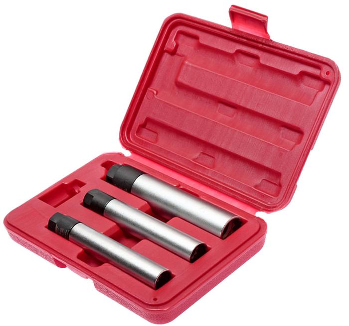 JTC Набор головок свечных 12-гранных, 3 шт. JTC-4623JTC-4623Используется с ключом 3/8. Применяется для затяжки с точно заданным усилием во время установки свечей зажигания. 3/8 х 14 мм: диаметр 19,6/19 Н·м 3/8 х 16 мм: диаметр 20,8/20 Н·м 3/8 х 21 мм: диаметр 27,8/25 Н·м