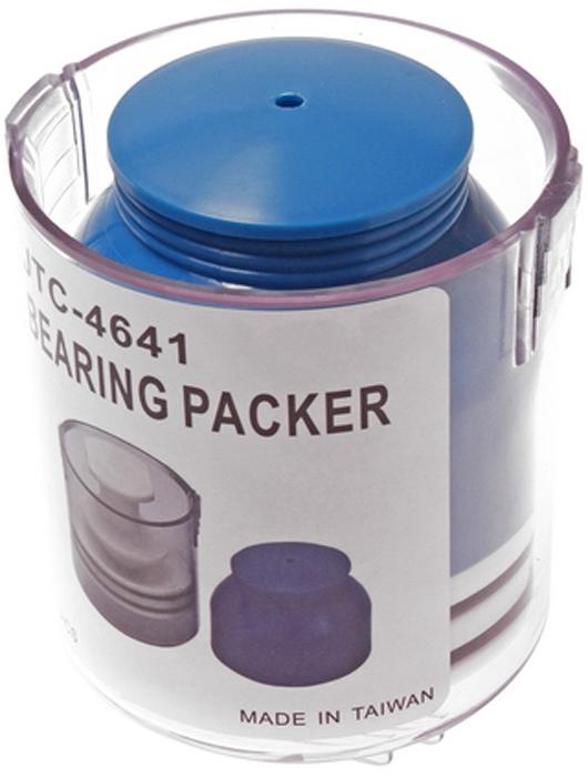 JTC Приспособление для смазки подшипников. JTC-4641JTC-4641Применяется для заполнения подшипника смазкой под давлением. Смазка добавляется через смазочный фитинг или путем снятия рабочей части приспособления. Применяется для подшипников с максимальным внутренним диаметром 16 мм и максимальным внешним диаметром 95 мм. Габаритные размеры: 140/110/110 мм. (Д/Ш/В) Вес: 541 гр.