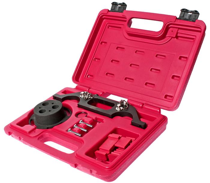 JTC Набор фиксаторов распредвала и водяного насоса для установки фаз ГРМ (OPEL, GM). JTC-4712JTC-4712Применение: Astra, VectraVX220, Zafira и Signum (00-04). Применяется для фиксации насоса системы охлаждения, зубчатого колес и натяжителя цепи, а также для установки фаз ГРМ. Коды: K9K, G9T, G9U. Упаковка: прочный переносной кейс. Габаритные размеры: 300/250/70 мм. (Д/Ш/В) Вес: 1860 гр.