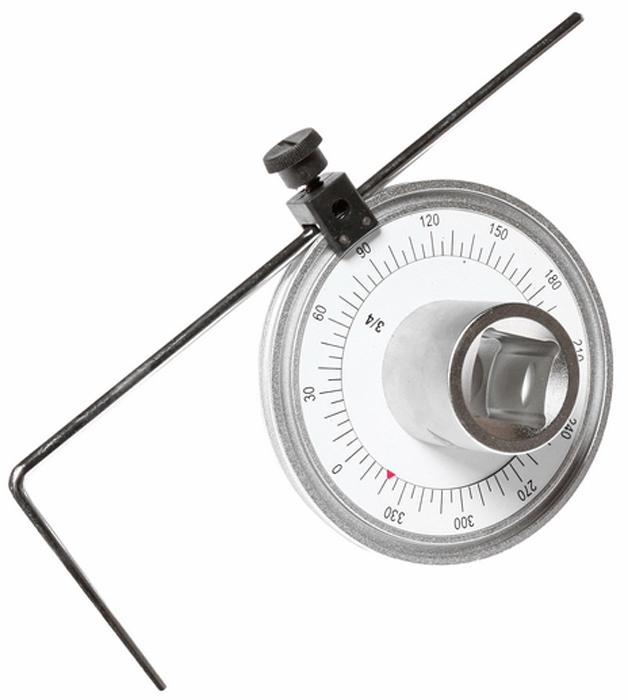 JTC Шкала доворотная. JTC-4740JTC-4740Шкала доворотная JTC Характеристики Шкала на 360°, цена деления 5°, интервал 30°. Предназначена для измерения угла доворота крепежных деталей. Для управления устройством рекомендуется использовать ключ на 3/4. Применяется с инструментом под квадрат 3/4. Длина 100 мм. Габаритные размеры: 300/180/110 мм. (Д/Ш/В) Вес: 728 г.