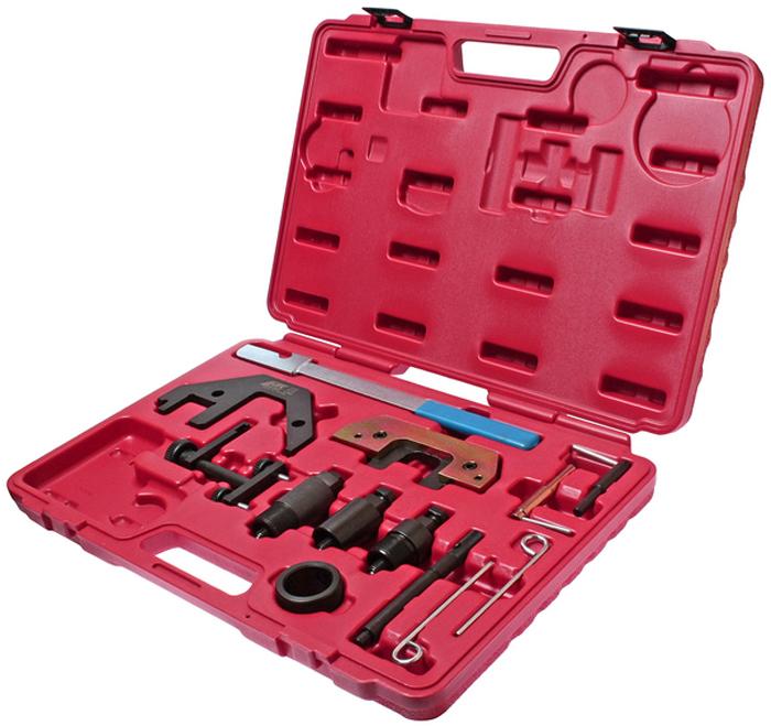 JTC Набор фиксаторов распредвала для проверки и установки фаз ГРМ (BMW двиг. М41, М47, М51, М57 с 1998 г.в.). JTC-4760JTC-4760Предназначен для установки и снятия распредвала или его различных элементов. Применяется для проверки и установки фаз ГРМ. Применение: М41, М47 TU/T2, М51, М57 TU/T2:2.0 л./3.0 л. начиная с 1998 г.в. Упаковка: прочный переносной кейс. Габаритные размеры: 450/320/60 мм. (Д/Ш/В) Вес: 3936 гр.