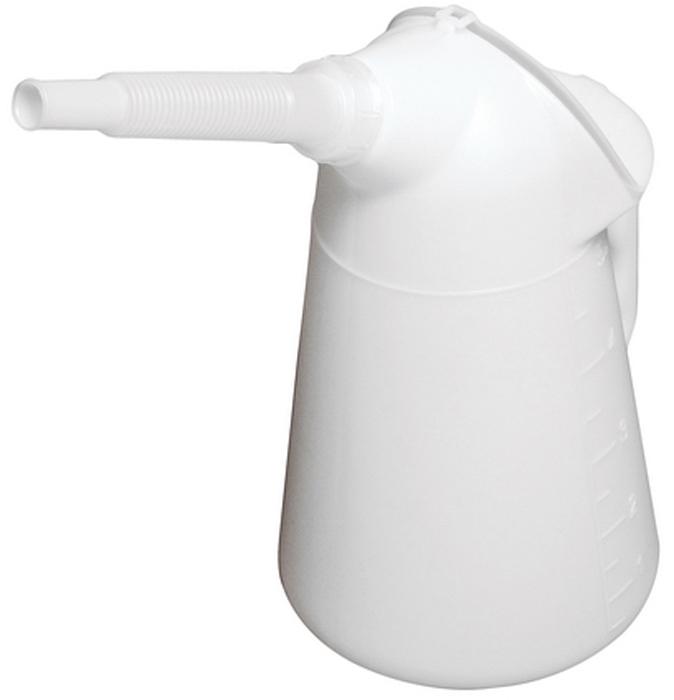 JTC Масленка, 5 л. JTC-5032JTC-5032Масленка с наконечником удобна в применении, когда есть необходимость залить масло в глубоко расположенные рабочие узлы. С защитной крышкой. Высота: 330 мм. Длина трубки: 170 мм. Объем: 5 л. Материал: полиэтилен с высокой плотностью (PE-HD) Корпус устойчив к химической обработке. Область рабочих температур: от –50 °C до +80 °C. Количество в оптовой упаковке: 12 шт. Габаритные размеры: 350/230/190 мм. (Д/Ш/В) Вес: 435 гр.