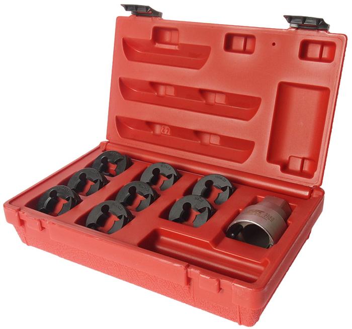 JTC Набор для восстановления резьбы оси ШРУСа. JTC-5203JTC-5203Используется для очистки или ремонта резьбы оси ШРУСа: M24x2.0; M24x1.5; M22x1.5; M22x1.0; M20x1.5; M20x1.25; 13/16x20; 3/4x20 Используется с 32 мм. головкой или гаечным ключом. Упаковка: прочный переносной кейс. Габаритные размеры: 260/160/70 мм. (Д/Ш/В) Вес: 1370 гр.