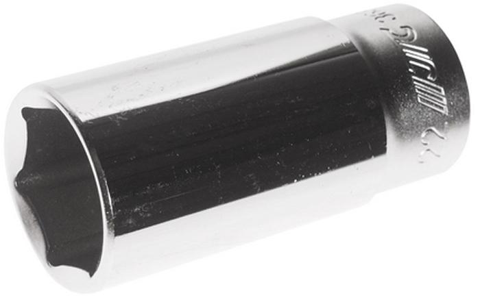 """JTC Головка глубокая 6-гранная3/8 22 мм, длина 63 мм. JTC-36322JTC-363226 граней, метрический размер. Диаметр: 22 мм., ширина - 29.9 мм. Общая длина: 63 мм. Размер: 3/8"""" Dr. Изготовлена из закаленной хром-ванадиевой стали. Габаритные размеры: 63/30/30 мм. (Д/Ш/В) Вес: 175 гр."""