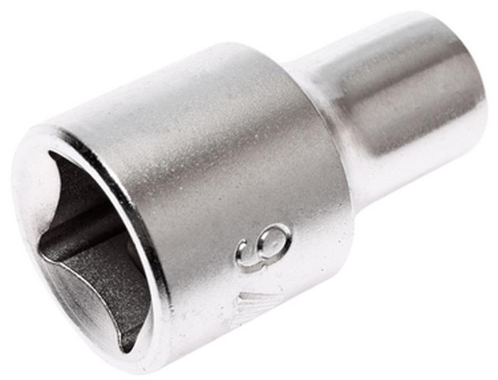 """JTC Головка торцевая 6-гранная 1/2 х 9 мм, длина 38 мм. JTC-43809JTC-438096 граней, метрический размер. Изготовлена из закаленной хром-ванадиевой стали. Размер: 1/2""""х9 мм. Длина: 38 мм. Количество в оптовой упаковке: 10 шт. и 200 шт. Габаритные размеры: 38/15/15 мм. (Д/Ш/В) Вес: 50 гр."""