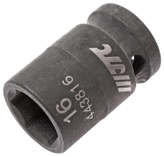JTC Головка торцевая ударная 6-гранная 1/2 х 16 мм, длина 38 мм. JTC-443816JTC-4438166 граней, метрический размер. Изготовлена из высококачественной хром-молибденовой стали. Размер: 1/2х16 мм. Общая длина: 38 мм. Количество в оптовой упаковке: 10 шт. и 200 шт. Габаритные размеры: 38/25/25 мм. (Д/Ш/В) Вес: 81 гр.