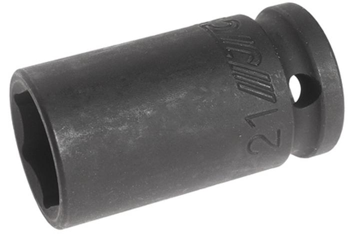 """JTC Головка торцевая ударная средней глубины, 6-гранная. JTC-445521JTC-4455216 граней, метрический размер. Диаметр: 30 мм. Общая длина: 55 мм. Размер: 1/2"""" Dr.х21 мм. Изготовлена из высококачественной хром-молибденовой стали. Количество в оптовой упаковке: 10 шт. и 200 шт Габаритные размеры: 55/30/30 мм. (Д/Ш/В) Вес: 170 гр."""