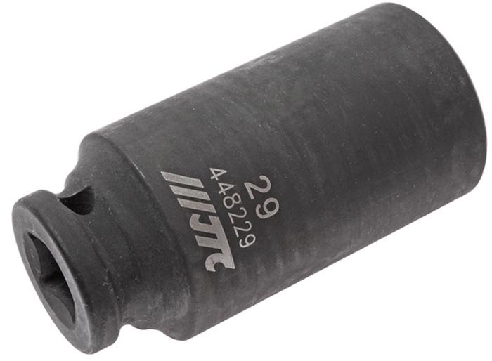 JTC Головка торцевая ударная глубокая 6-гранная 1/2 х 29 мм, длина 82 мм. JTC-448229JTC-4482296 граней, метрический размер. Изготовлена из высококачественной хром-молибденовой стали. Размер: 1/2х29 мм. Общая длина: 82 мм. Количество в оптовой упаковке: 5 шт. и 25 шт. Габаритные размеры: 82/41/41 мм. (Д/Ш/В) Вес: 431 гр.