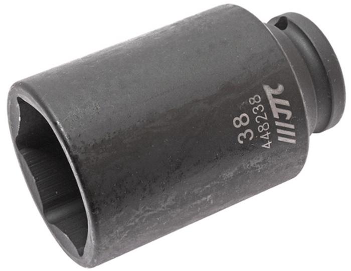 JTC Головка торцевая ударная глубокая 6-гранная 1/2 х 38 мм, длина 82 мм. JTC-448238JTC-4482386 граней, метрический размер. Изготовлена из высококачественной хром-молибденовой стали. Размер: 1/2х38 мм. Общая длина: 82 мм. Количество в оптовой упаковке: 20 шт. Габаритные размеры: 82/52/52 мм. (Д/Ш/В) Вес: 572 гр.