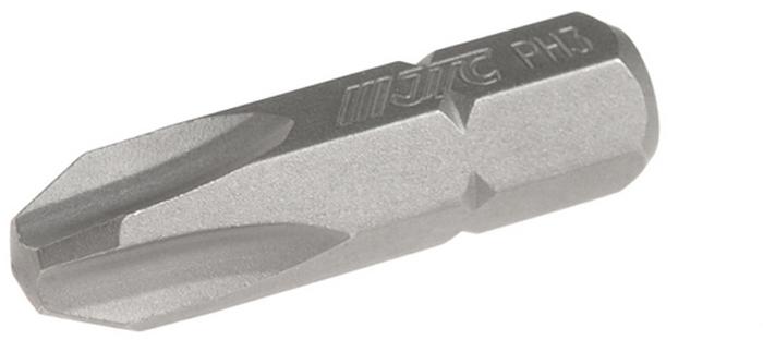 JTC Вставка 1/4DR Philips PH.3х25 мм. JTC-1112503JTC-1112503Размер: PH.3 х 25 мм. Квадрат: 1/4 DR. Материал: S2 сталь.