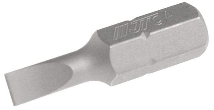 JTC Вставка 1/4DR шлиц 0.8х4х25 мм. JTC-1122504JTC-1122504Размер: 0.8 х 4 х 25 мм. Квадрат: 1/4 DR. Материал: S2 сталь. Тип: SL.