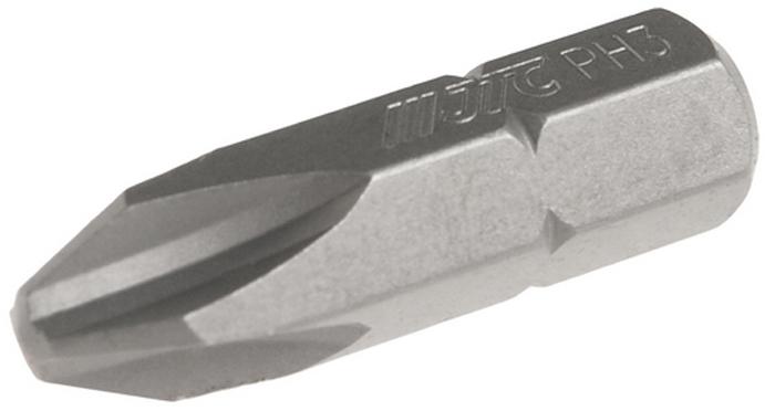 JTC Вставка 5/16DR Philips PH.3х30 мм. JTC-1213003JTC-1213003Размер: 3 х 30 мм. Квадрат: 5/16 DR. Материал: S2 сталь. Тип: PH.