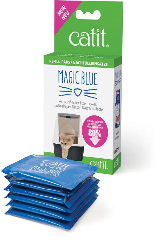 Картридж сменный Hage MagicBlue, для фильтра, 6 шт44306WСменные фильтры. Всего 2 сменных фильтра обезопасят вас и вашего питомца от пагубного воздействия токсичных газов на целый месяц! В упаковку включены 6 сменных фильтров для поглощения неприятных запахов в течении 3-х месяцев.
