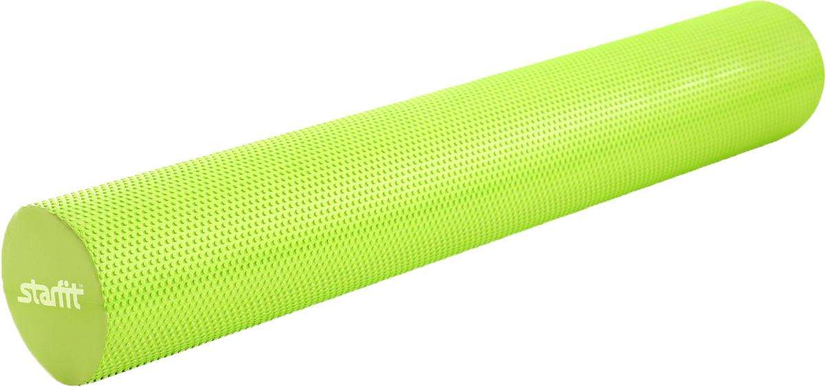 Ролик для йоги и пилатеса Starfit FA-506, цвет: зеленый, 15 х 90 смУТ-00009800Ролик для йоги и пилатеса FA-506 выполнен в классической форме, дополнен массажным покрытием.