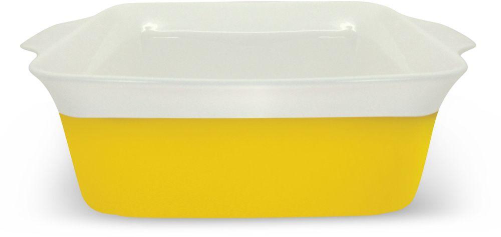 Блюдо Barton Steel, 2 л. 2408BS2408BSКвадратное фарфоровое блюдо. Размер: 26,6 х 22 х 8,3. 2,0л. Прочный фарфор с цветной глазурью, обжиг при 1310гр.С.