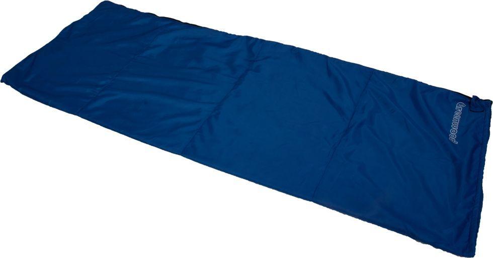 """Спальный мешок Greenwood """"RS FLEECE"""", цвет: синий, левосторонняя молния 336087"""