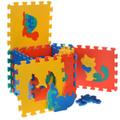 Коврик-мозаика `Животные`, 28  ...