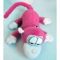 Интерактивная плюшевая игрушка `Миниобезьянка розовая` Chericole
