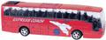 Big motors Игрушка инерционная Автобус `Cheerful Bus` цвет красный