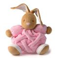Заяц средний розовый, коллекция `Плюм`